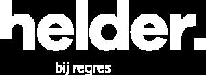 helder bij regres logo wit